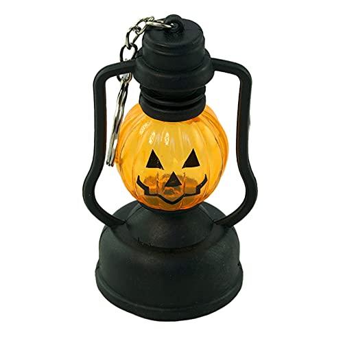 Sunmery Lampada creativa per Halloween, luce notturna portatile, pratica accessorio per feste per giardino della casa, decorazione del cortile