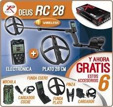 XP Deus 28RC WS4Metal Detector Complete Set
