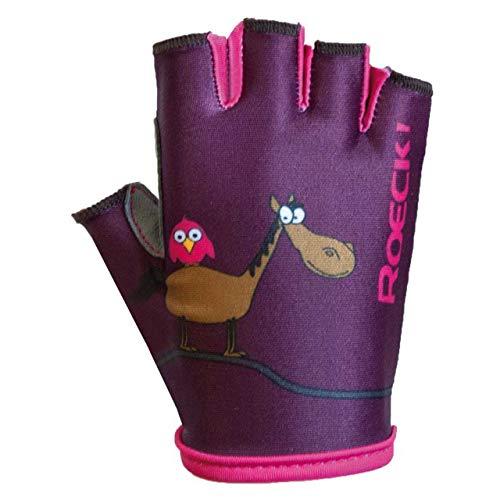 Roeckl Toro Kids Kinder Fahrrad Handschuhe kurz lila 2020: Größe: 4