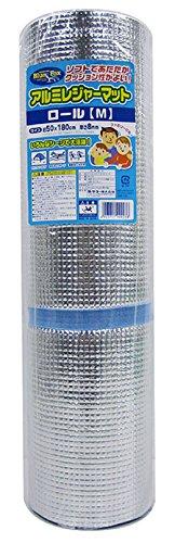 ワイズ ワイズ(WAISE) アルミレジャーマット ロール M 約50×180cm OB-021