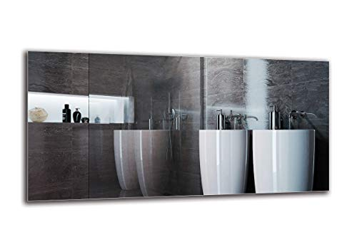 ARTTOR Espejo Baño - Espejos Pared. Decoracion Hogar - Espejos Decorativos De Pared - Muchos Tamaños: Pequeñosy Grandes, Rectangulares y Cuadrados. - M1ST-01-100x50
