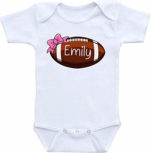 Promini Divertido body de fútbol personalizado para bebé de una sola pieza, el mejor regalo para bebé