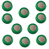 (10-PACK) Button 80mAh Rechargable 1.2V NiMH Flat Top Batteries use with electric razors toothbrushes high power static applications (Telecoms UPS and Smart grid) electric tools electric mopeds