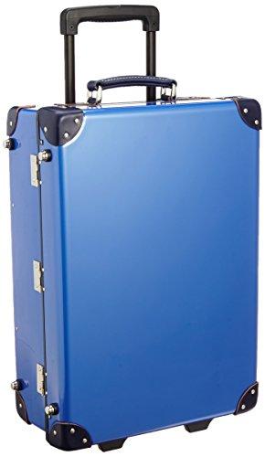 [クルーニ] スーツケース トランクキャリー 51cm 30L 3.6kg 日本製 ステッカー付 CY30003 55 cm ティールブルー