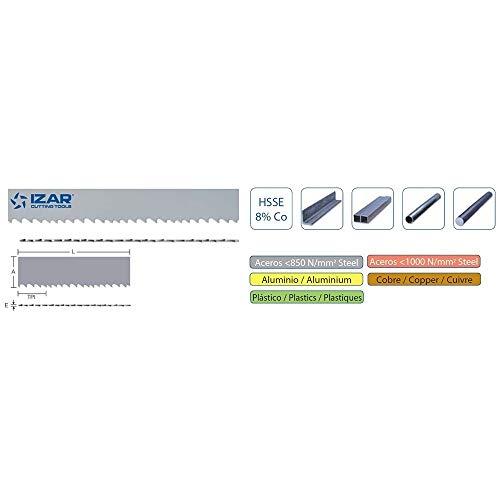 IZAR 40932 verschillende lintzaag, voor metaal HSSE8% IZARFLEX 02215 x 0,90 x 06-10S/020
