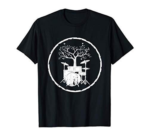 Drumming Regalo Tambor Árbol Tambores Camiseta