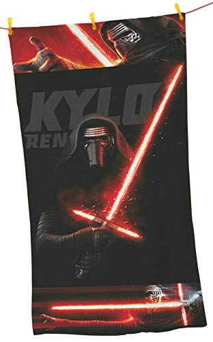 "PremiumShop321 Star Wars Kylo Ren Strandtuch/Strandlaken Badelaken 75x150 Global Labels G104 400 SW16 100"""