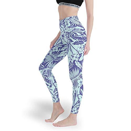 Mädchen Gedruckt Leggings Cool 3D Yoga Hosen Capri-Weich Capris Tights für Sport White 3XL