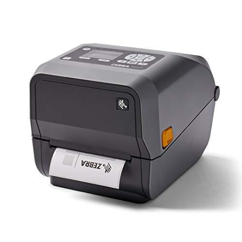 Zebra ZD620t Thermal Transfer Desktop Printer with LCD Screen 203 dpi Print Width 4 in WiFi Bluetooth USB Serial Ethernet ZD62142-T01L01EZ