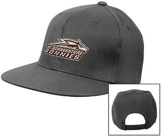 St Bonaventure Charcoal Flat Bill Snapback Hat 'Official Logo'