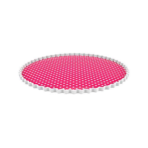 Zak Dotty Tortenplatte rund Ø 32 cm Beere