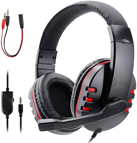 Zeion Gaming Headset Headphone with Microphone for PS4 PS5 Nintendo Switch Playstation 4 Playstation product image