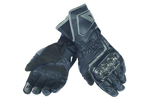 Dainese-CARBON D1 LONG LADY Handschuhe, Schwarz/Schwarz/Schwarz, Größe L