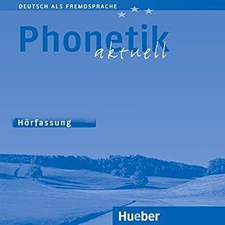 Phonetik aktuell (Deutsch als Fremdsprache) Titelbild