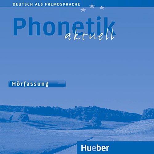 Phonetik aktuell Titelbild