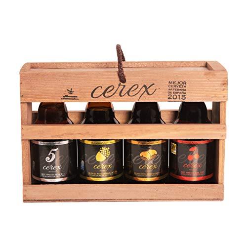CEREX - Pack Degustación de 4 Cervezas Artesanas Españolas