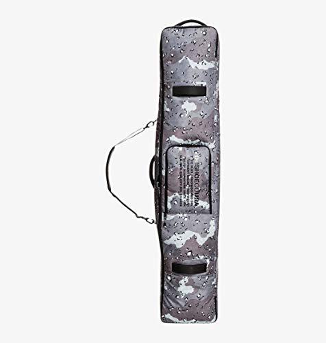 DC Shoes Tarmac-Maleta De Viaje Snowboard con Ruedas, Hombre, Chocolate Chip Greyscale Camo, 1SZ
