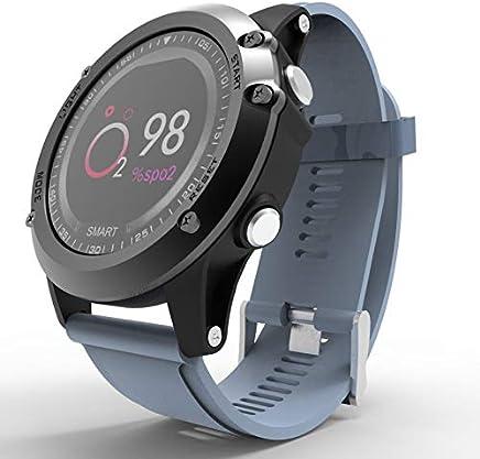 YOZOOE T2 IP68 Impermeable Presión Arterial Oxígeno Monitor Smartwatch Deportes Al Aire Libre Bluetooth Smart Band