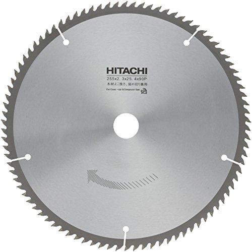 HiKOKI(ハイコーキ) 旧日立工機 チップソー よこ挽,留切兼用 径255mm 穴径25.4mm 90枚刃 卓上スライド丸のこC10FSH/C10FSA用 0031-6036