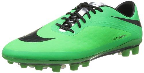 Nike Hypervenom Phatal FG, Herren Sneaker, Mehrfarbig (N Lime/BLK-PSN GRN-MTLC SLVR), EU 41
