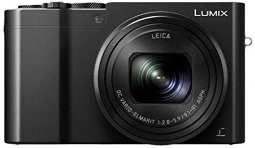 "Panasonic Lumix DMC-TZ100EG-K - Cámara Compacta Premium de 21.1 MP (Sensor de 1"", Objetivo F2.8-F5.9 de 25-250mm, Zoom de 10X, 4K, WiFi, Bluetooth, Raw), Color Negro"