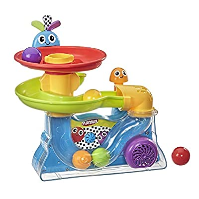 Playskool Explore 'N Grow Busy Ball Popper Musical Toy; Provides Opportunity for Baby and Toddler to Practice Motor Skills from Playskool