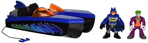 Product Image of the Fisher-Price Imaginext Super Friends Batboat &s of Joker & Batman