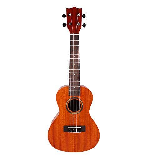 Mahagoni Ukelele 23 inch, draagbare lichte concertukelele Hawaii gitaar voor kinderen en volwassenen