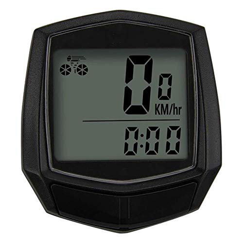 LQUIDE Vélo Filaire chronomètre vélo Ordinateur Multifonction Compteur de Vitesse Compteur kilométrique capteur Accessoires de Sport de Plein air