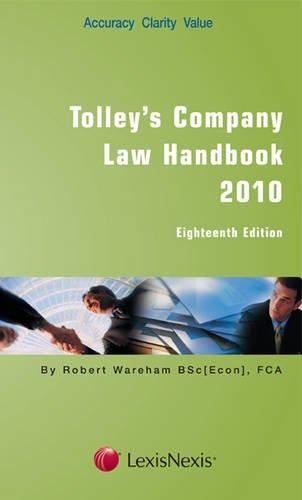 Tolley's Company Law Handbookの詳細を見る