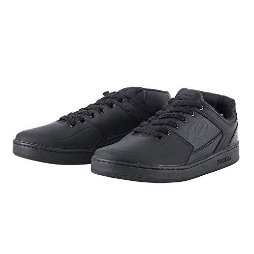 O'NEAL Pinned Pro Flat Pedal Sneaker Unisex Erwachsene, Unisex, Sneaker, 325-1101, Schwarz, 44