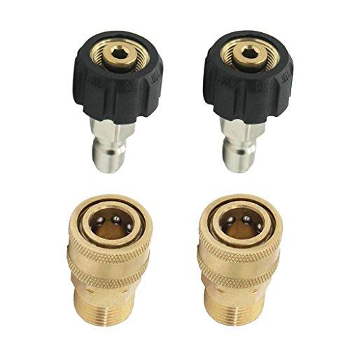 perfk 2 Hochdruckreiniger M22 / 14 F X 1/4 M Kupplungslanze Adapter Kupplung