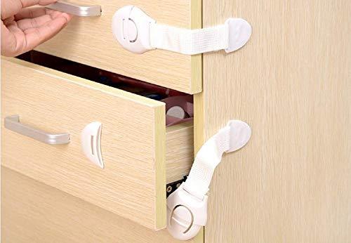 DouTree Cupboard Cabinet Serrures de s/écurit/é /Échelle de tiroir tiroir R/éfrig/érateur Enfants