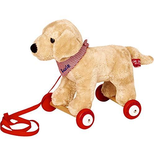 Die Spiegelburg 15161 Labrador Luzie auf Holzrollen Lustige Tierparade