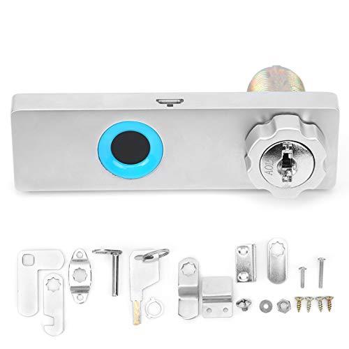 Dispositivo de seguridad para el hogar inteligente Cerradura inteligente para gabinete, cerradura sin llave, cerradura con huella dactilar, para gabinete para cajón