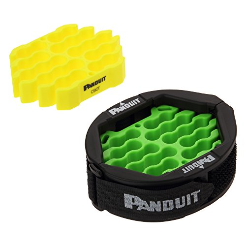 Panduit CBOT24K Cable Bundle Organizing Tool, Jacket Cover, Hook And Loop Fastener, Two Inserts