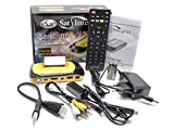 SatIntegral S-1258 HD Racing, Receptor satélite Full HD (con Adaptador USB-LAN) (Electrónica)