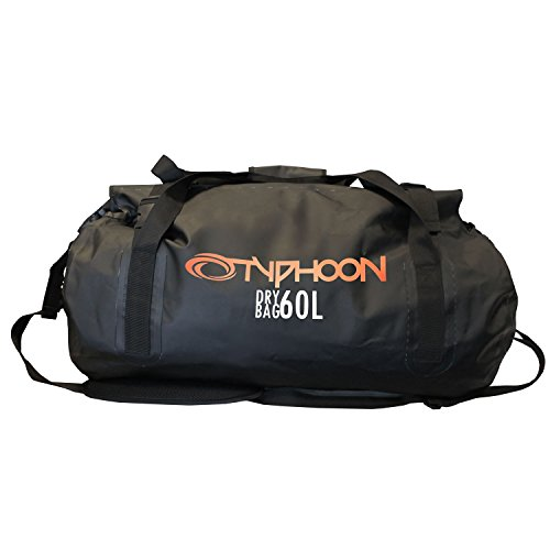 Typhoon Heavy Duty 60 Litre Roll Top Dry Bag 2018 - Black