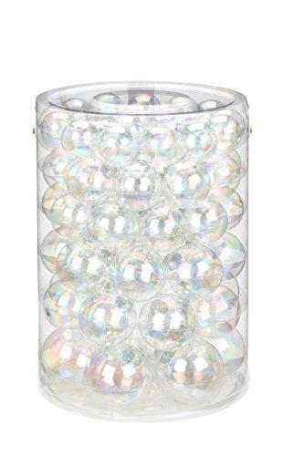 Inge-glas 14140e460mo Palla di Natale, Vetro, Trasparente, 22, 2X 31, 8cm