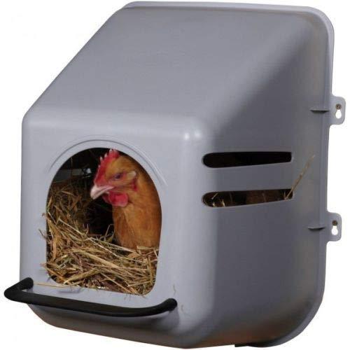 Campo24 Big Großes Hühnernest, Legenest, Eierbox für Geflügel Hühner