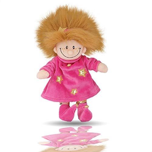 Beppe Muñeco rosa de mano Trollfrau Crazy Troll de peluche   Peluche mágico de cuentos de hadas de peluche para acurrucarse y enamorarse   Peluche de cuento de hadas de 40 cm