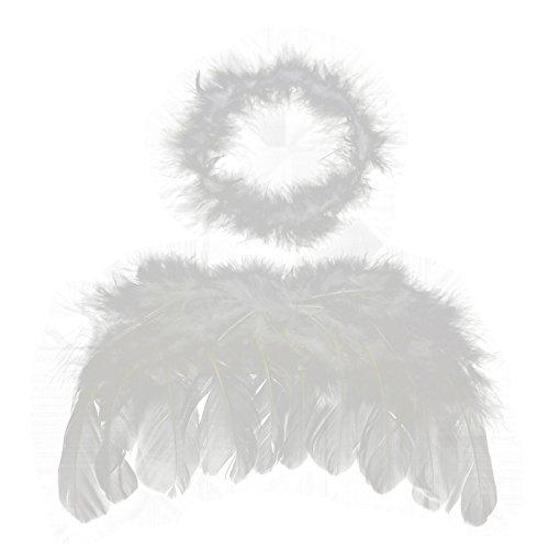 HuntGold Accessoires photo pour bébé et enfant Motif ailes d'ange