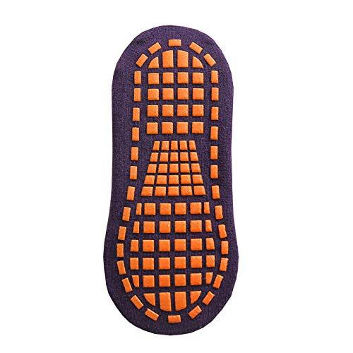 YXXB 5pair Autumn Winter Spring Summer Breathable Non-slip Floor Socks Boy Girl Socks Home Baby Kids Socks Cotton Candy Color Ankle Socks-07_adults
