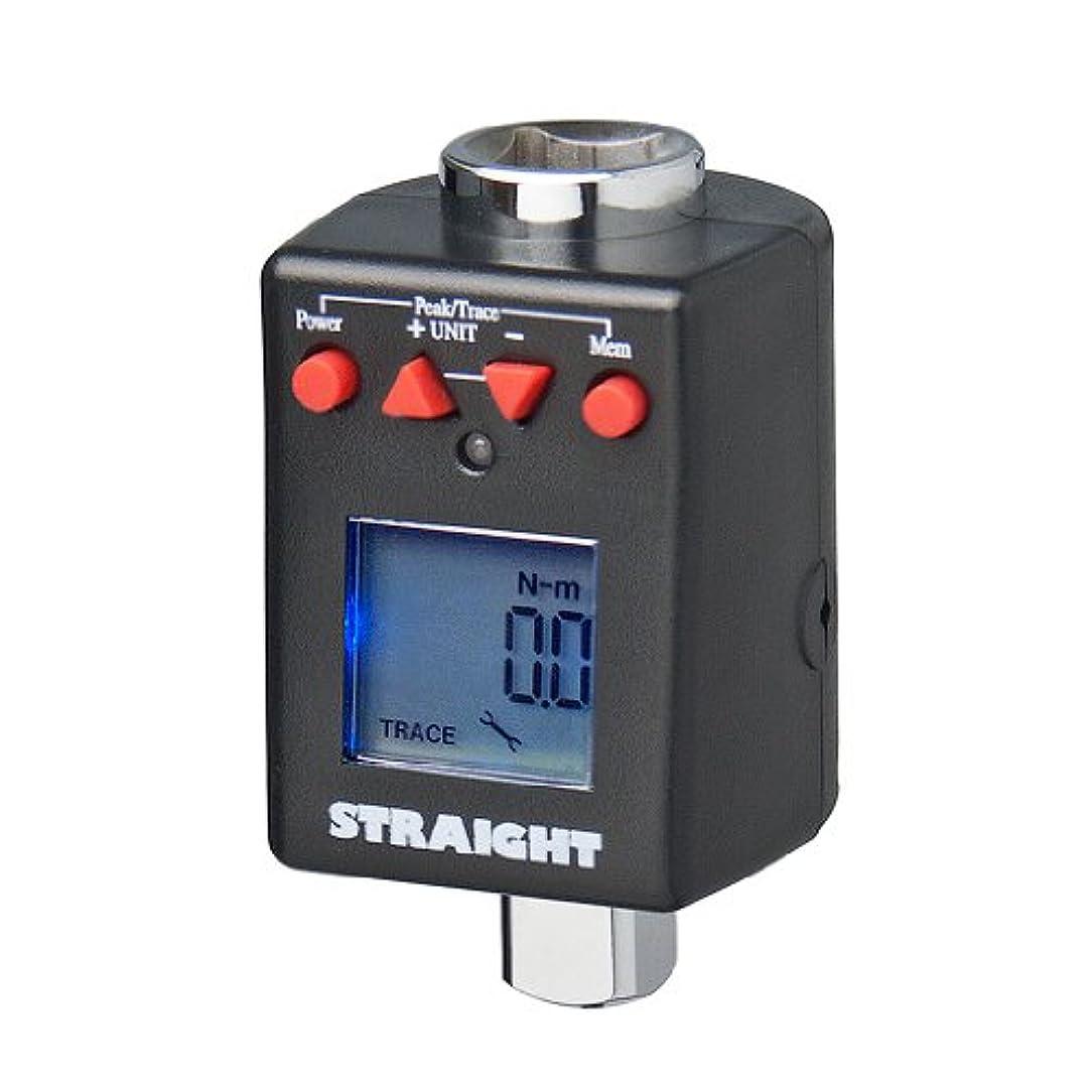 マルクス主義者フロー改修(STRAIGHT/ストレート) トルクレンチアダプター デジタル式 40~200(Nm) 差込角1/2