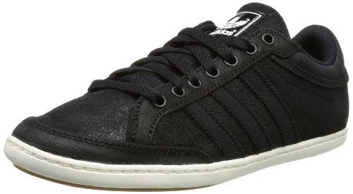 adidas Plimcana Low, Low-Top Homme - Noir - Schwarz (Black 1 / Black 1 / White Vapour S11), 36 2/3 EU