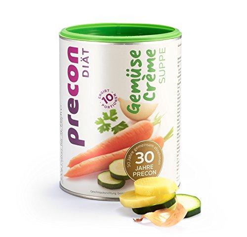 Precon BCM Diät Suppe zum Abnehmen – GemüseCrème – 10 Portionen (300 g)