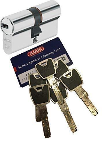 ABUS XP2S Profil-Doppelzylinder Länge 40/50mm mit 6 Schlüssel