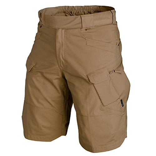 Helikon-Tex UTK Shorts Coyote Poly Cotton Ripstop Waist 36 Length 11, Urban Line Urban Tactical Shorts