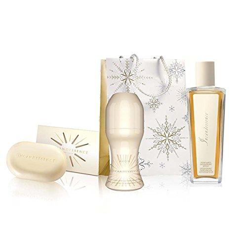 Avon Set Incandessence Parfümiertes Deospray, Deoroller und Seife