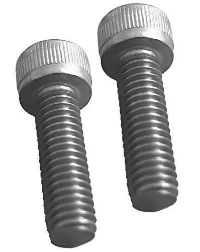 Pair of Replacement Screws for Fuel Wheels Black Center Cap Cap 1001-63-B